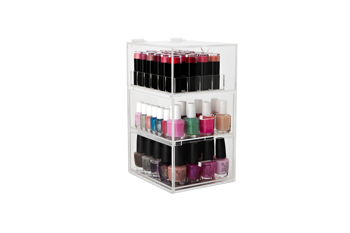 Nail Varnish Organiser Design Decoration