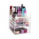clear acrylic make up organiser australia