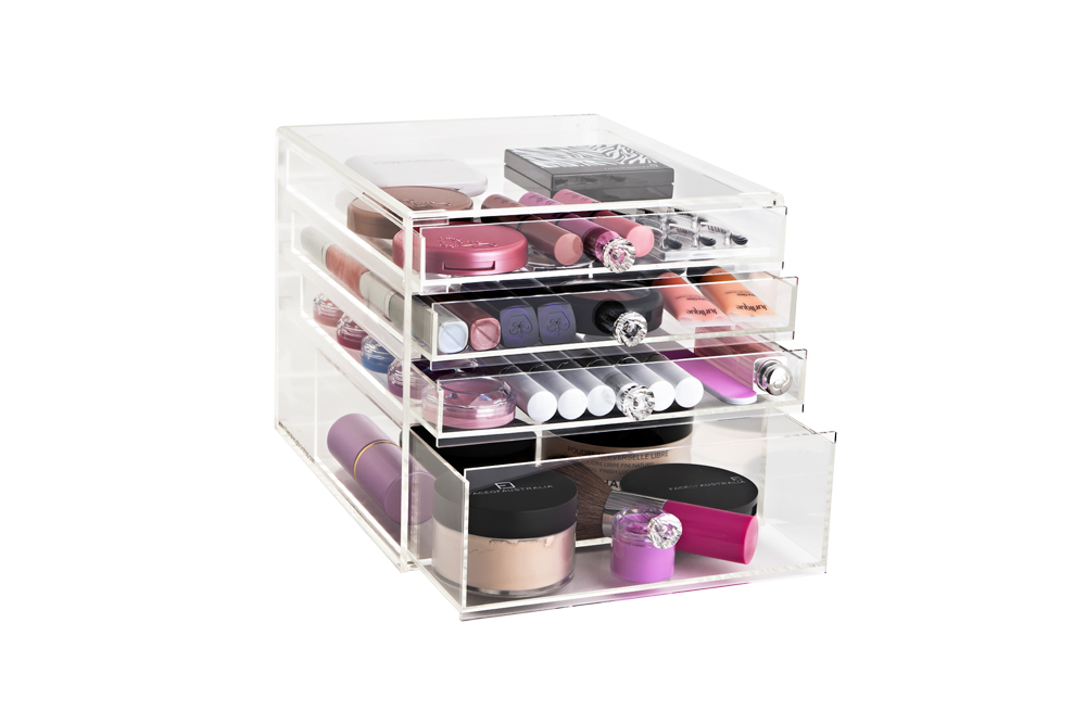 Petite Glamour Box The Makeup Box Shop Australia - Acrylic makeup organizer