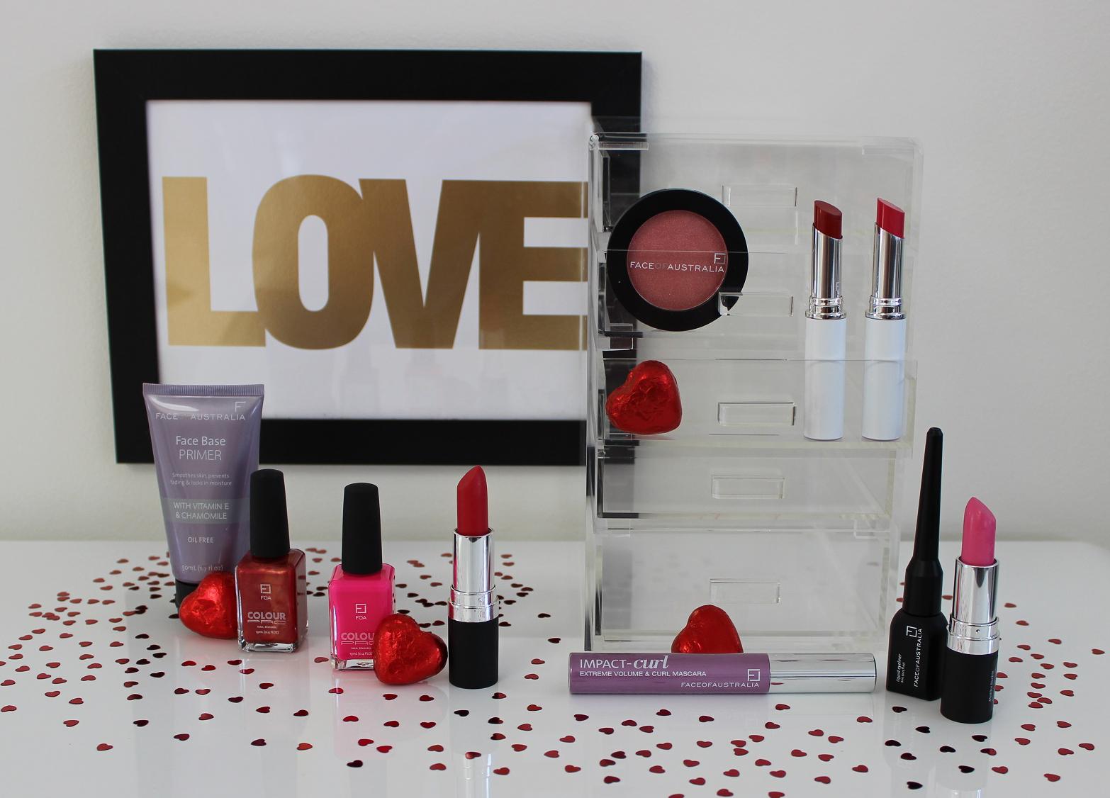 Makeup sample box
