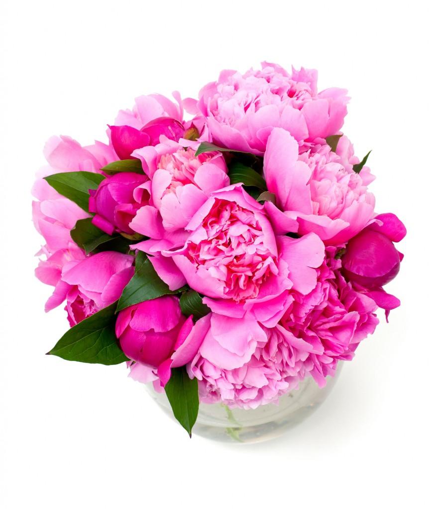 Pink Peonie Bouqet