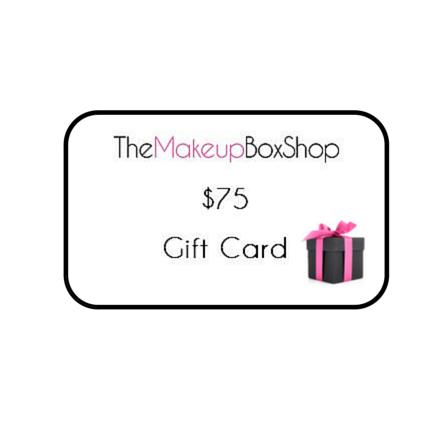 The Makeup Box Shop Gift Voucher