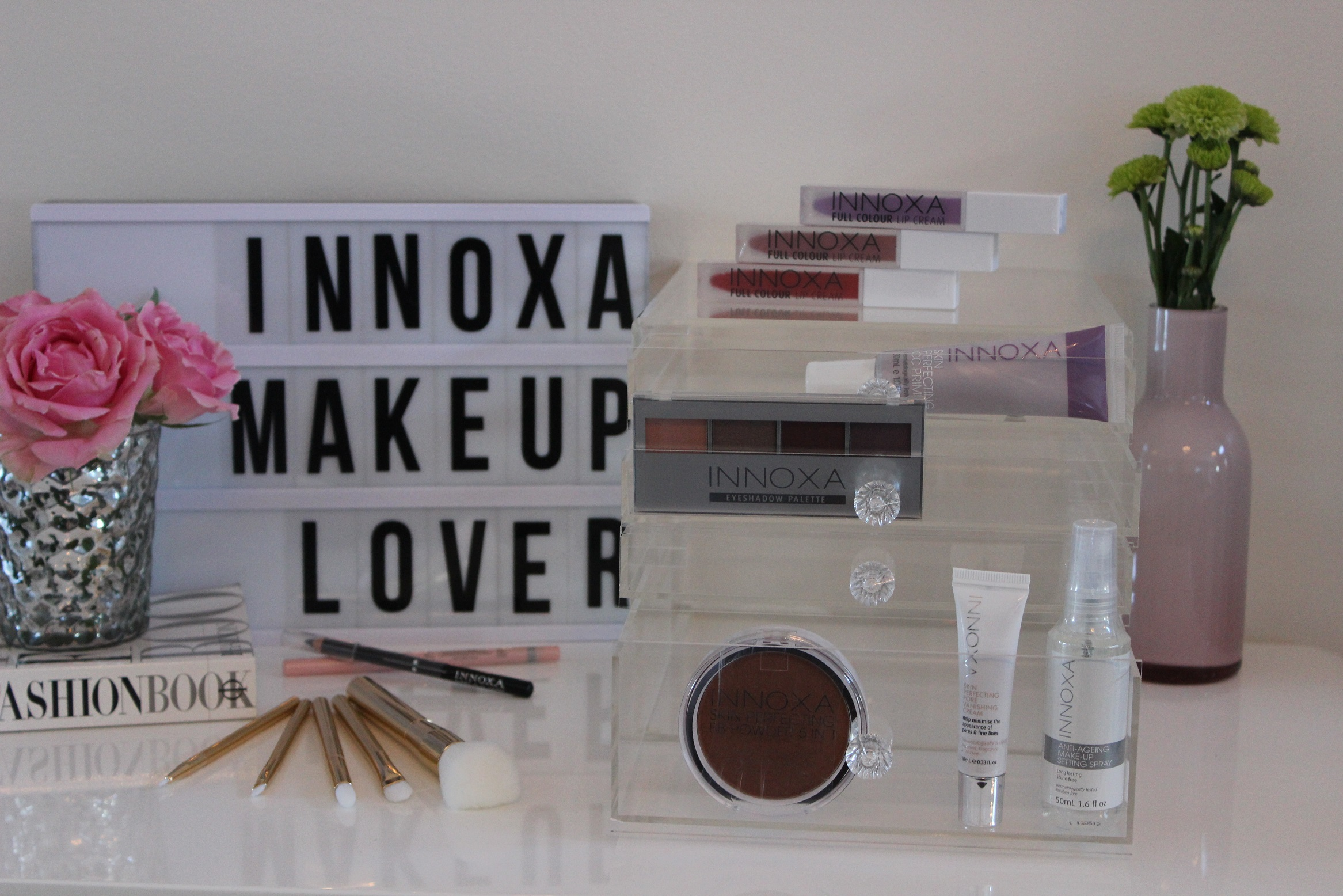 Innoxa + The Makeup Box Shop Giveaway!