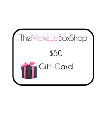 The Makeup Box Shop Birthday Gift