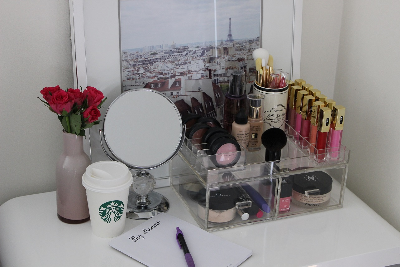 makeup vanity for small space. Makeup Vanity In Your Room DIY Table Bedroom For Small Spaces  The Box Shop