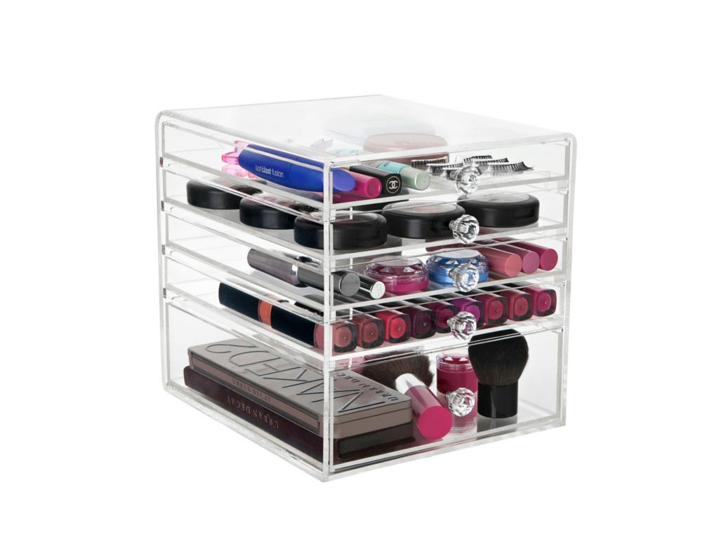 Acrylic Boxes Australia : Where to acrylic makeup organizer australia