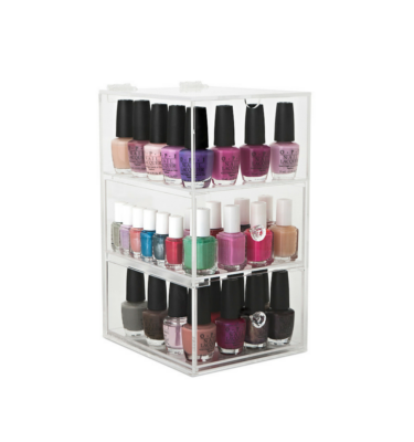 glamour nail polish tower