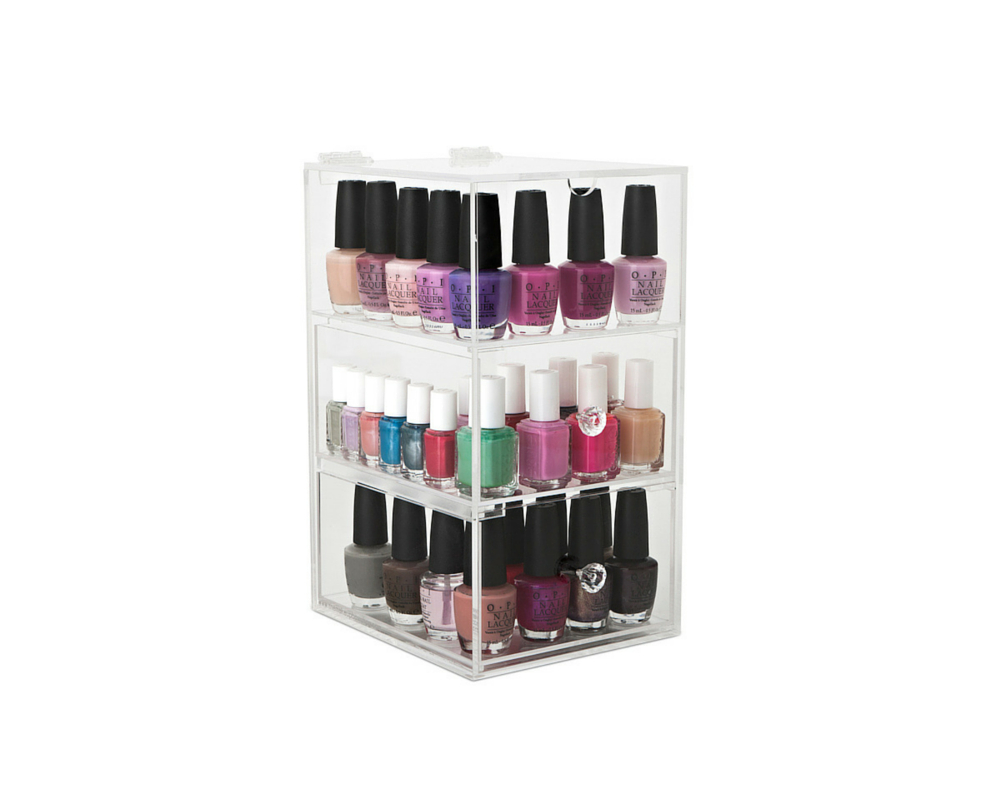 Glamour Nail Polish Tower| The Makeup Box Shop | Australia