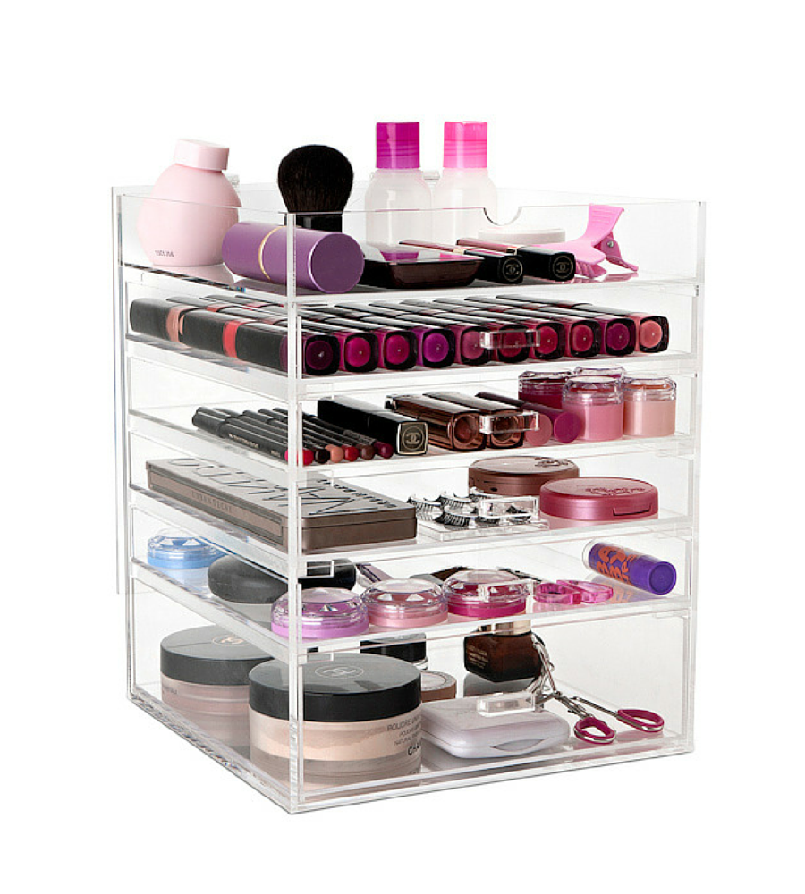 makeup storage ideas australia