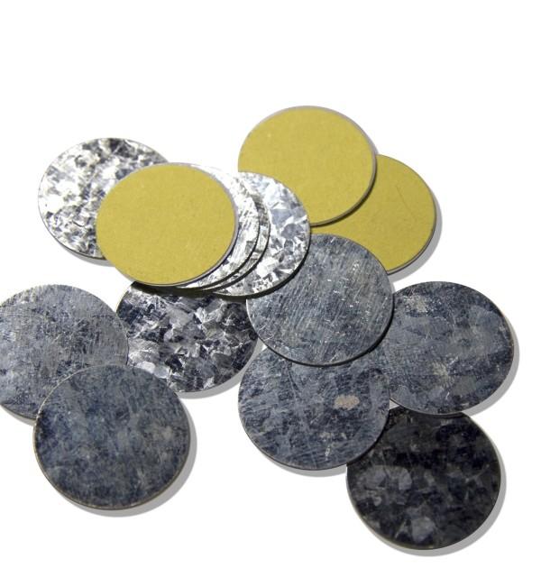 Metal Stickers Round