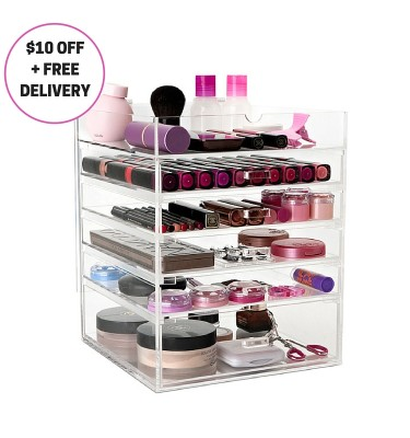 Original Fliptop Makeup Storage on sale