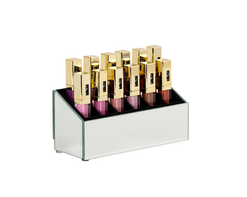 Mirrored Lipgloss Holder - The Makeup Box Shop e7d5548cd